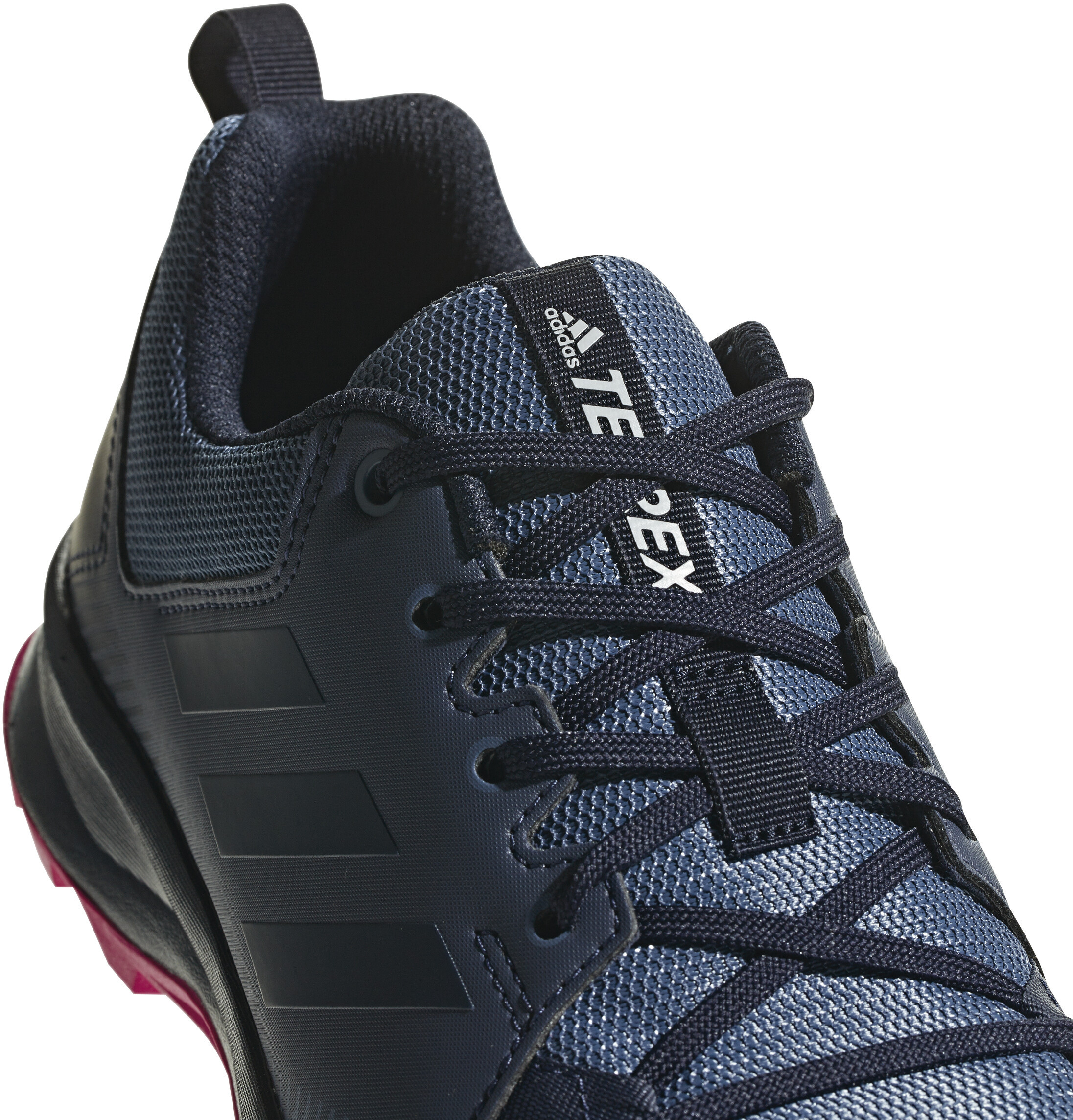promo code 67b40 9d85a adidas TERREX TraceRocker Trail-Running Shoes Women Tech Ink Trace Blue Real  Magenta